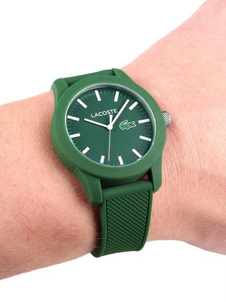 7dea34cb587 Relógio Lacoste 12.12 Silicone Verde